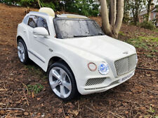 OFFICIAL BENTLEY BENTAYGA 12V KIDS RIDE ON CAR ELECTRIC BATTERY SUV 4X4 JEEP R/C