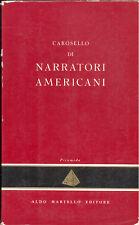 Carosello  di narratori americani Martello,1957 a cura di Giorgio Monicelli