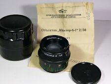 Jupiter-8-1 2/50mm #9201757 lens M39-mount Russian Sonnar. New