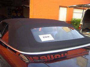2003-09  Audi A4, S4, RS4 ROBBINS TWILLFAST GERMAN TOP -  GLASS DEMISTER WINDOW