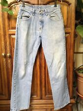Wrangler Original Western Denim Jeans Relaxed Fit size 30x30 11.5 High Rise