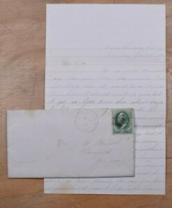 Mayfairstamps US 1880s Greene Ny Cover & Letter to Plainfield NJ wwp72035