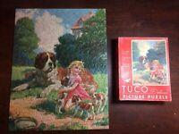 Rare TUCO Vintage puzzle THE HOME GUARD 300-500pc COMPLETE AND PRISTINE!