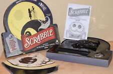 Tim Burton Nightmare Before Christmas Glow In The Dark Scrabble Game COMPLETE