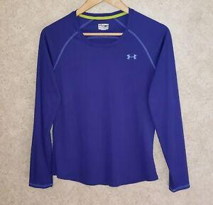 UNDER ARMOUR HeatGear Athletic Long Sleeve Shirt  Women's  Sz M / Medium