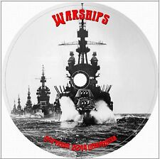 Warships of WWI and WWII in Profile 40 Vol CD DVD History War British American