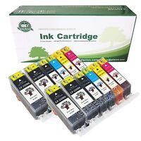 12 Generic PGI-220 CLI-221 Ink Cartridge for Canon PIXMA MP990 MX860 MX870 MP640