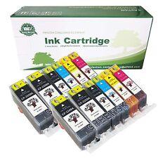 12 Pack PGI-220 CLI-221 Ink Cartridges for Canon PIXMA MP560 MP620 MP640 Printer