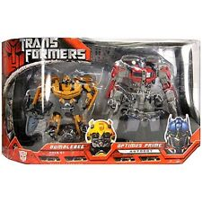 Bumblebee Optimus Prime Twin Transformers Movie Ages 5+ New Toy Boys Girls Play
