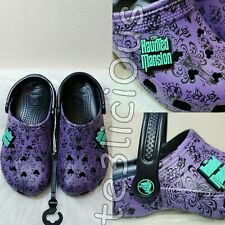 DISNEY HAUNTED MANSION WALLPAPER CROCS GLOW IN THE DARK *ALL SIZE*