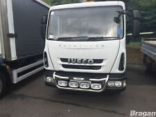 To Fit 04 - 15 Iveco Eurocargo Grill Light Bar C + Oval Spot x4 - 7.5 - 13GVW