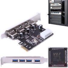 PCI-E to USB 3.0 4-Port PCI Express Expansion Card (PCIe Card) 4 USB 3.0 Ports