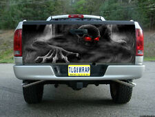 T23 SKELETON SKULL GRAVEYARD TAILGATE WRAP Vinyl Graphic Decal Sticker Tint Bed