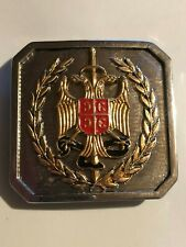 POLICE OF THE REPUBLIC OF SERBIA - SPECIAL anti-terrorist unit BELT BUCKLE
