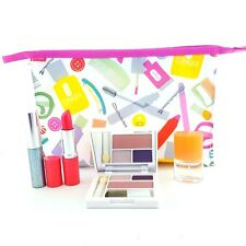 Clinique Makeup 5 Pc Gift Set:All about Shadow Duo;Mascara;Lipstick;Perfume