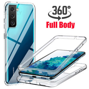 360 Full Protect Hybrid Shockproof Silicone Front+Back Mobile iPhone Case Cover