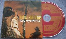 JURASSIC 5 Quality Control PROMO EP Card Sleeve CONSCIOUS HIP HOP