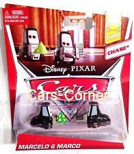 Disney pixar Cars Marcelo & Marco la Casino employés-Mattel NEUF & OVP