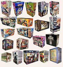 Manga Anime Naruto One Piece Bleach Ouran One Punch Nausicca Collection Box Set
