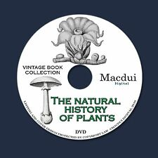 The natural history of plants, their forms 1902 - 2 PDF E-Books on 1 Data DVD