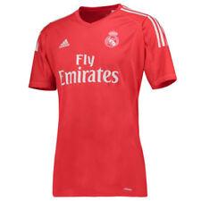 Camisetas de fútbol de clubes españoles porteros de manga corta para hombres