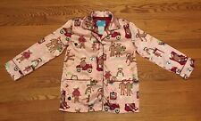 Girl's Nick and Nora Long Sleeve Pink Pajama Shirt Size small 6X