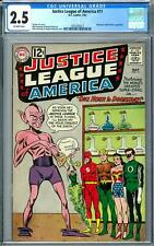 Justice League of America #11 CGC 2.5 (OW)