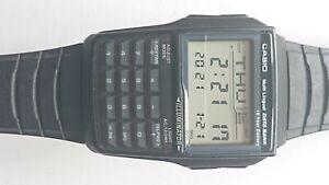 Boxed casio multi lingual calculator watch.