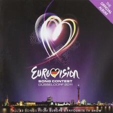 EUROVISION SONG CONTEST DÜSSELDORF 2011 – V/A 2CDs (NEW) Official Album