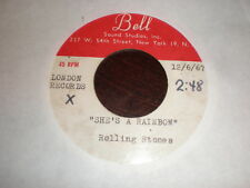 Rolling Stones 45 She's A Rainbow/2,000 Light Years From Home BELL ACETATE