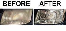 SUV Truck Car Headlight Cleaner Restorer Renewer Polish       Rub Hard and Done!