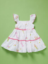 NEW Baby Nay Emily Rose Toddler Girl Summer White Tiered Dress Size 4T