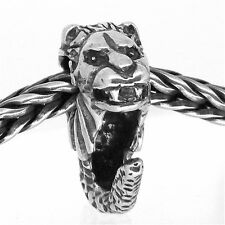 MERLION SINGAPORE AUTHENTIC 925 STERLING SILVER EUROPEAN CHARM BEADS S 081
