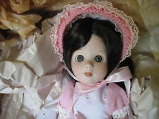 """1979 Porcelain 16"""" Tall Annabelle Doll By Marjorie Spangler, Never Been Out Box"""