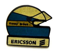 Pin Spilla Casco Kenny Brack Sponsor Ericsson