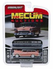 1955 Chevrolet Nomad  - Coral / Grey *** Greenlight Mecum Auctions 1:64