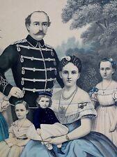 FRIEDRICH KARL Prinz von Preußen (1828-1885) Kolor-Litho. um 1866 Felgner Berlin