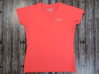 Women's Under Armour UA HeatGear Pink Performance Shirt Size Small