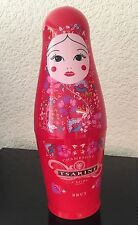 TSARINE CHAMPAGNE STORAGE BOTTLE HOLDER IN THE FORM OF A RUSSIAN DOLL NEW