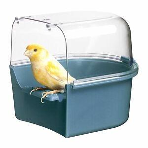 Ferplast Trevi Couverts Cage Bain Douche Pour Canari Finch Perruche Oiseaux