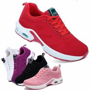 Women's Air Cushion Running Shoes Comfortable Casual Walking Tennis Sneakers Gym
