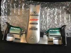 Amalgam Mercedes MGP F1 W02 1/12 Nosecone - Schumacher/ Rosberg.