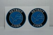 """(2) Detroit Lions (2.0"""" size) Diy Stickers Decals Great for Yeti"""