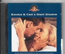CD ALBUM 25 TITRES 2 BOF/OST--EXODUS & CAST A GIANT SHADOW--GOLD/BERNSTEIN