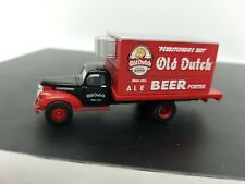 Old Dutch Beer vintage Straight Truck First Gear Delivery CMW