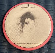 Bob Marley 1970's Promo Button
