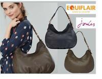 Joules Aldbury Carriage Leather Hobo Handbag - AW19