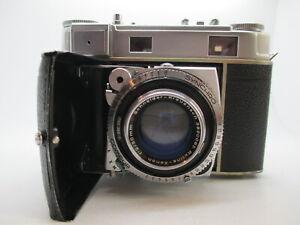 KODAK RETINA IIIc 35mm Film Camera w/ Schneider 50mm f/2 Lens WORKING