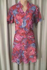 VINTAGE   ~ KENWALL ~  Floral DRESS * Size 8 * REDUCED !!