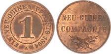 1 peniques 1894 a colonias/Nueva Guinea alemán casi sello brillo